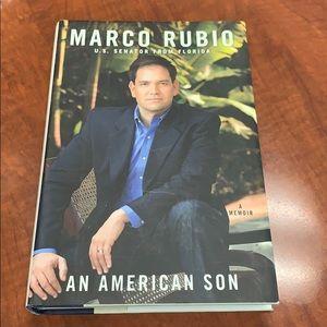 NWT Marco Rubio an American son book